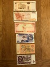 More details for collection of 20 worldwide banknotes