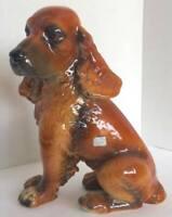 Vintage COR Porcelain Spaniel Setter Dog Figurine West Germany *RARE*
