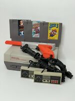 Nintendo NES Console System - Bundle New 72 Pin + Super Mario Bros 1 2 & 3