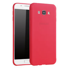 For Samsung Galaxy S7 Edge Shockproof Silicone Case Slim TPU Cover Shell Red