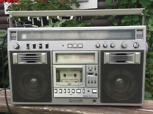 Vintage Panasonic RX-5600LS Stereo Boombox Retro Cassette Player Beach Surf