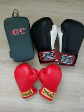 Adult and Child Everlast Boxing Gloves with Training Target