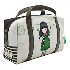 Santoro Gorjuss borsa piccola astuccio con manici mambian vestito verde con scia