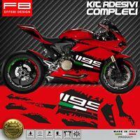 Adesivi Stickers Kit Ducati 1199 Panigale Corse FACILE APPLICAZIONE ALTA QUALITA