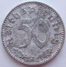 TOP! 50 REICHSPFENNIG 1941 J in SCHÖN !!!
