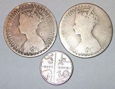 British Silver Coin Lot