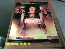 Rage: Carrie (2) FILM POSTER A2