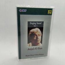 AMJAD ALI KHAN - Singing Sarod Vol.1 - 1992 India Cassette Tape VG+