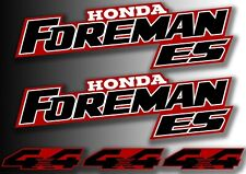 ATV Honda Foreman 2001 450es Tank And 4x4 Stickers Quad