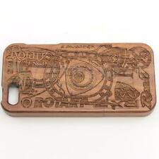 iPhone 5 & 5S ROTARY COLLAGE WALNUT WOOD PHONE CASE - RX7 RX-8 12A 13B 20B