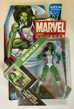"New Sealed She-Hulk Marvel Universe Series 1 Action Figure #012 3.75"" NIP"
