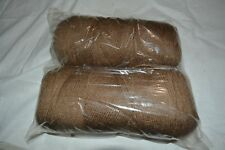 Southern Belle Mill End Yarn 21 oz Coffee Brown 3-4Ply Acrylic Color Per Photo1
