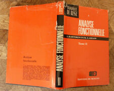 L KANTOROVITCH G AKILOV ANALYSE FONCTIONNELLE Equations .... TOME 2 MIR 1981