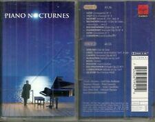 RARE / K7 AUDIO - PIANO NOCTURNES : BEETHOVEN, CHOPIN, MOZART ( CLASSIQUE ) TAPE
