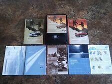 2004 Ford Explorer Sport Trac Owners Manual w/ Case & CD - #G-H-J-K-L-O-P-Q-S-U