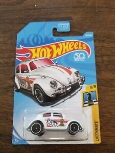 Hot Wheels Volkswagen Beetle Checkmate Pawn White Metal Base  VHTF