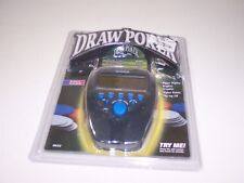 New RADICA DRAW POKER # 8023 Flip-top Lid Hand-Held Electronic Game 1999 SEALED