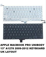 "UK keyboard For Macbook Pro 13""Unibody A1278  2009 2010 2011 2012 New"