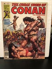 THE SAVAGE SWORD OF CONAN THE BARBARIAN NO 41 IN F/VF COND, 1979