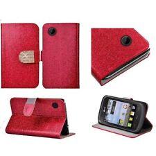 Fundas con tapa color principal rojo para teléfonos móviles y PDAs LG