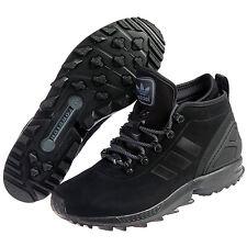 ADIDAS ZX FLUX WINTER BOOTS NEW MEN'S SIZE 10 BLACK AQ8433