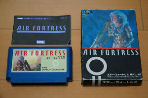 Air Fortress Famicom with Box and Manual