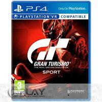 Gran Turismo Sport GT Sport PS4 Juego Físico - Nuevo y Precintado