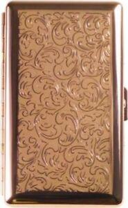Zigarettenetui Jean Claude f.Super-Slim Zig.gold/Ornament 100mm/20er mit Bügel