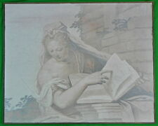 Italian Architecture's Allegory G. Battista Zelotti Reproduction Fresco Painting