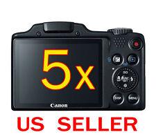 5x Canon PowerShot SX510 HS Camera Clear LCD Screen Protector Guard Shield Film