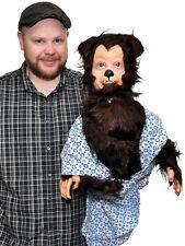 Werewolf Puppet Demon haunted Doll prop