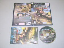 CALL OF DUTY 2 BIG RED ONE (Playstation 2 PS2) Complete BL