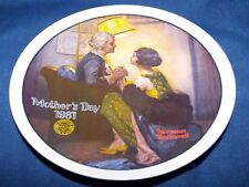 Plates Norman Rockwell After The Party Plate Collect