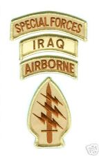 OIF OEF ODA CTU SPECIAL FORCES ABN DESERT DREB PATCH
