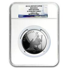 2013 5 oz Silver Britannia PF-70 NGC First Release (w/o Box&COA) - SKU #104156