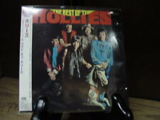 HOLLIES BEST RARE JAPAN OBI SEALED REPLICA TO ORIGINAL LP ISSUE IN A LIMITED CD
