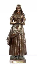Angelus, Charles Jacquot 1865-1930, bronze, sculpture, 40,5 CM
