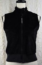 Dickie Walker Women's Fleece Vest Boating Black Size XS to Small Invo H25