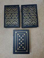 lot EASTON PRESS three volume set Franklin ROOSEVELT Speeches President Library