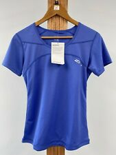 WOMENS RUN / GYM TOP BLUE IN SMALL