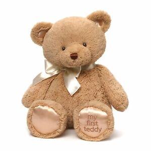 Perfect Unisex Baby GUND My First Teddy Bear Stuffed Animal Plush, Tan 15 inches