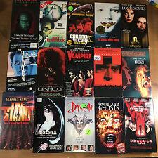 lot of 15 vhs Horror Movies vampire Children of the Corn Hellraiser Dracula