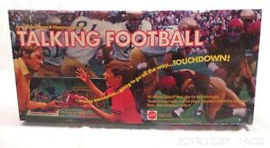 MATTEL Talking Football Game 1971 w/extras parts or repair