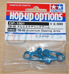 Tamiya 54801 TB-05 Aluminum Steering Arms (TB05 Pro/TB05R), NIP