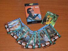 DR.NO JAMES BOND 007 Sean Connery MOVIE MINI CARDS SET ARGENTINA
