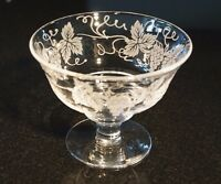 Beautiful Stuart Crystal Vine Dessert Bowl