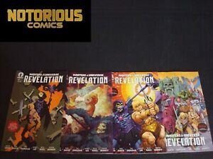 Masters of the Universe Revelation 1-4 Complete Variant Set Comic Lot Netflix