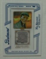 2010 Topps T206 Piedmont Game Worn Relic Johnny Evers Chicago Cubs HOF 'er