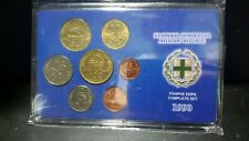 7 greek coins Complete set  1990 collection case drachamas greec cheap worldwide