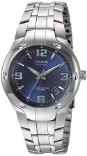Casio Men's Edifice Stainless Steel 100m Blue Dial Watch EF106D-2AV